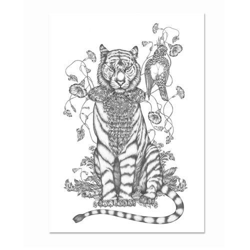 Poster Emma Fällman poster Totem Tiger