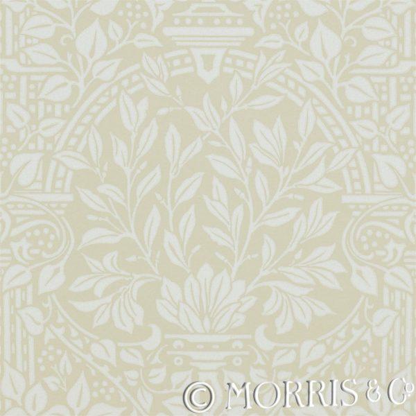 Morris & Co Tapet Garden Craft Limestone
