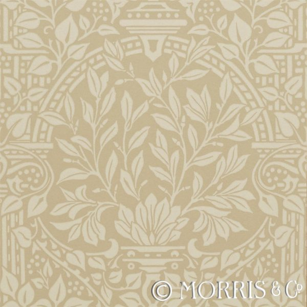 Morris & Co Tapet Garden Craft Manilla
