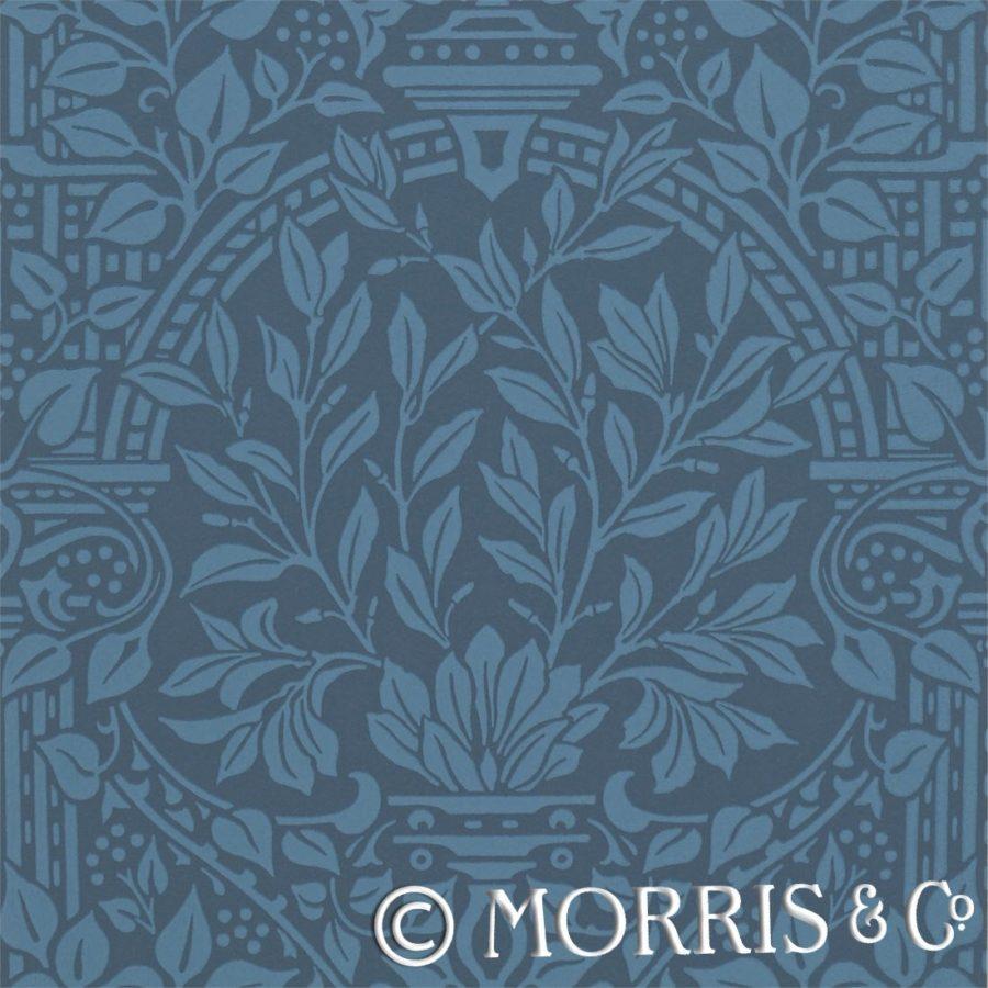 Morris & Co Tapet Garden Craft Ink