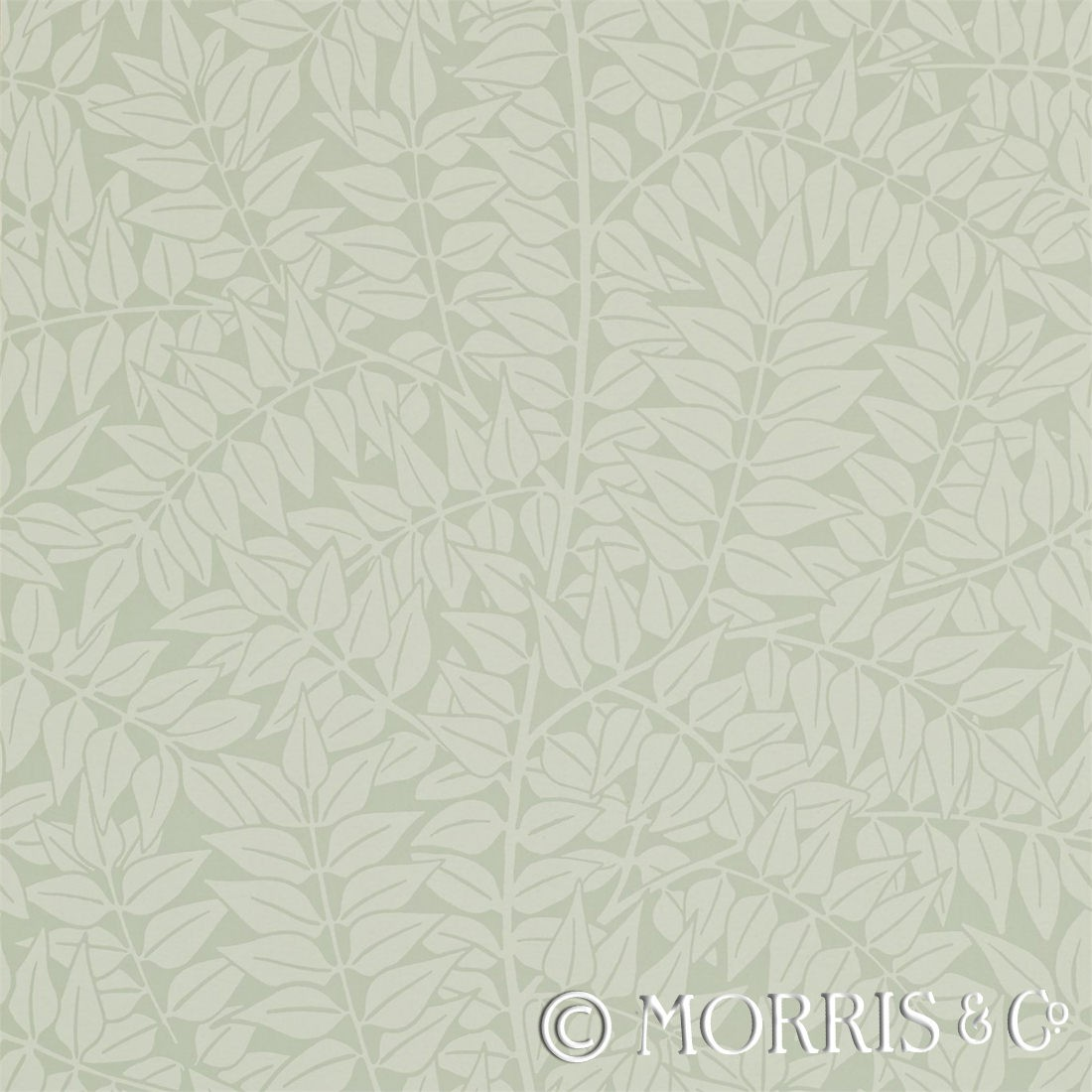 Morris & Co Tapet Branch Sage