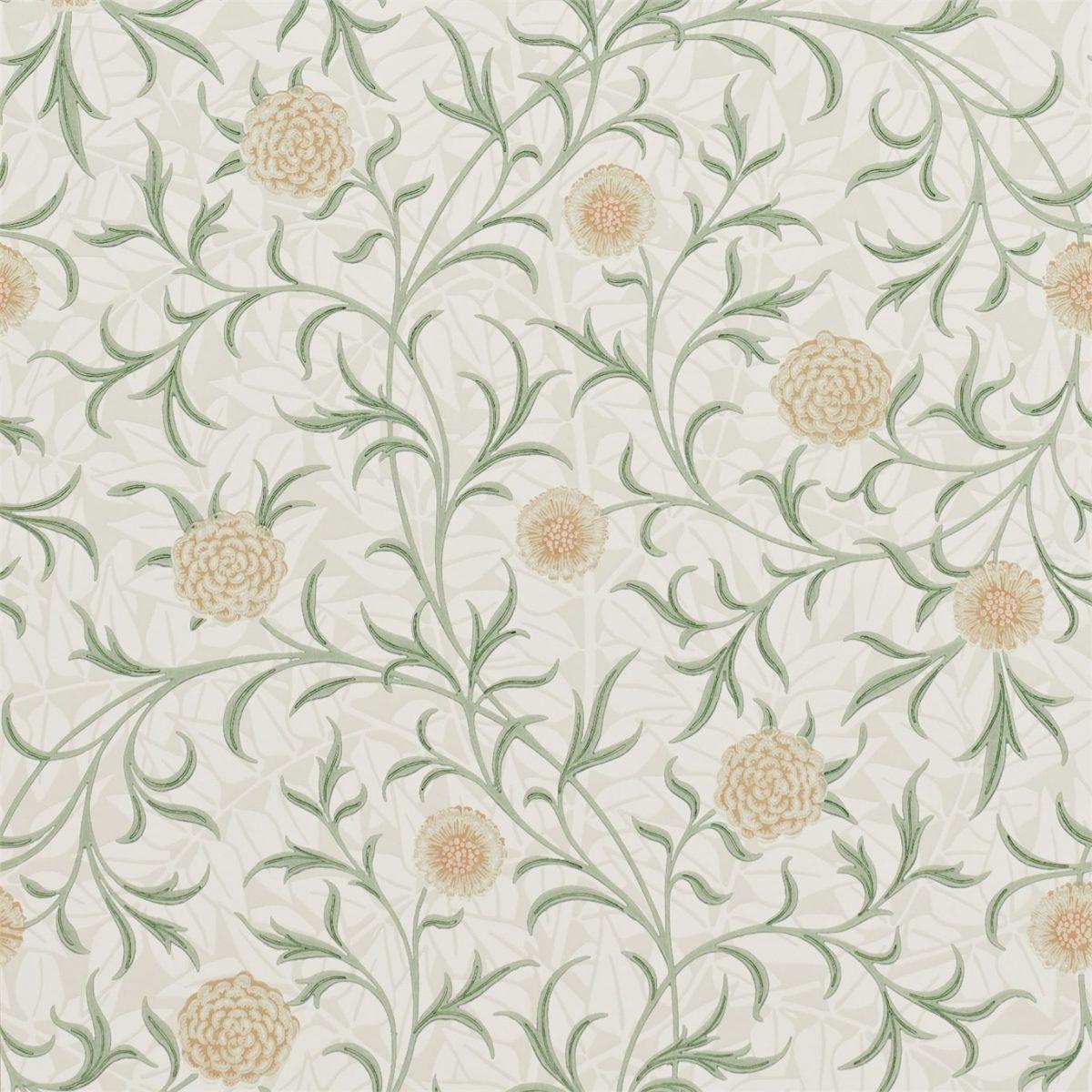 Morris & Co Tapet Scroll Pear