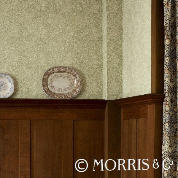 Morris & Co Tapet Marigold Artichoke