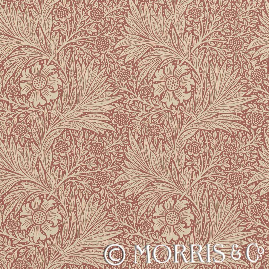 Morris & Co Tapet Marigold Brick