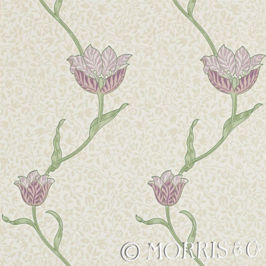 Morris & Co Tapet Garden Tulip Artichoke