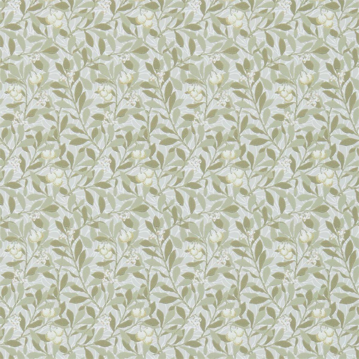 Morris & Co Tapet Arbutus Linen/Cream