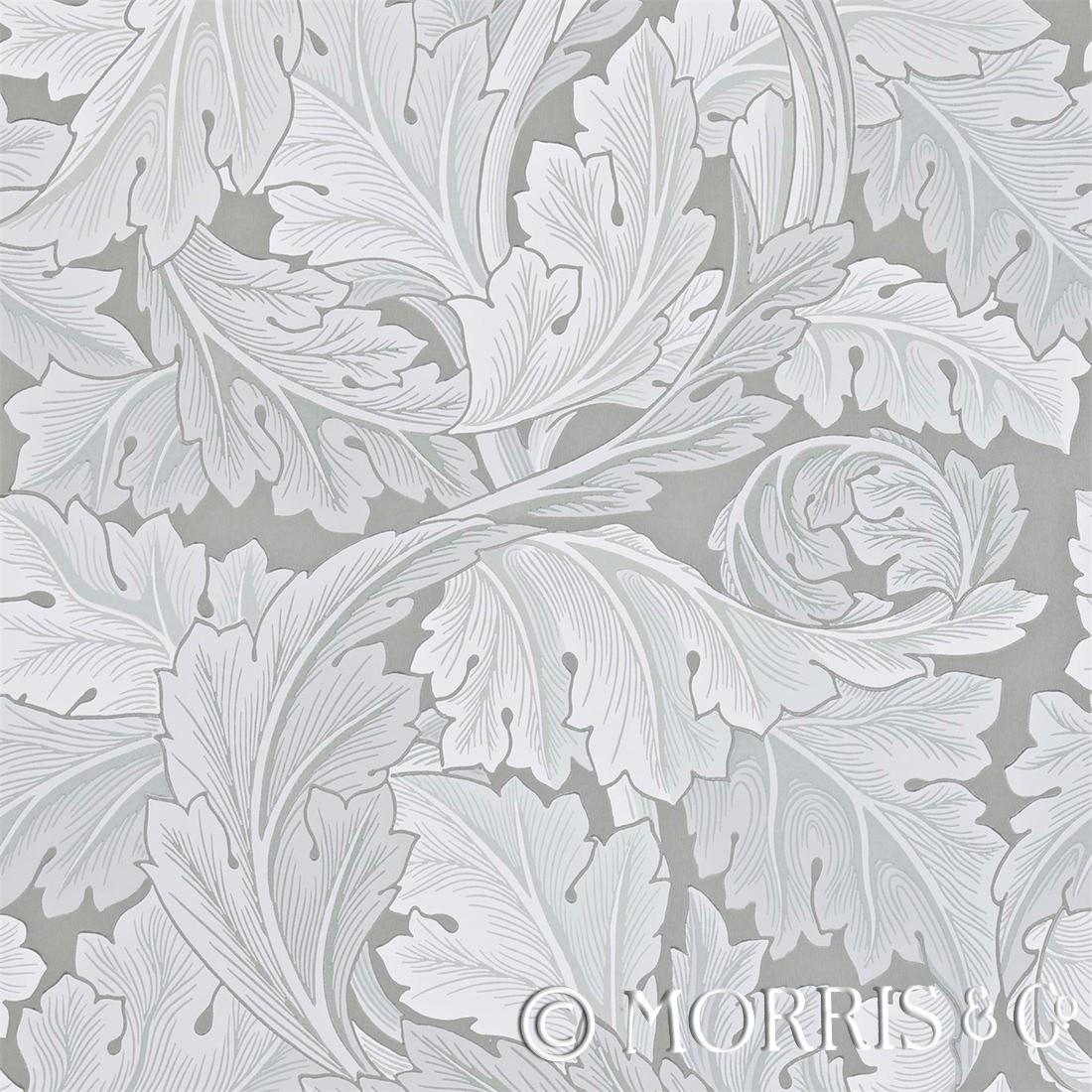 Morris & Co Tapet Acanthus marble