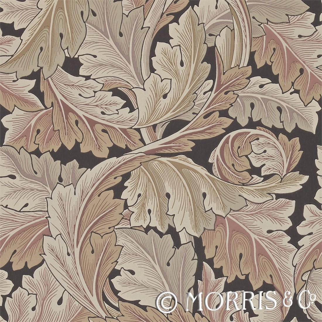 Morris & Co Tapet Acanthus Stone