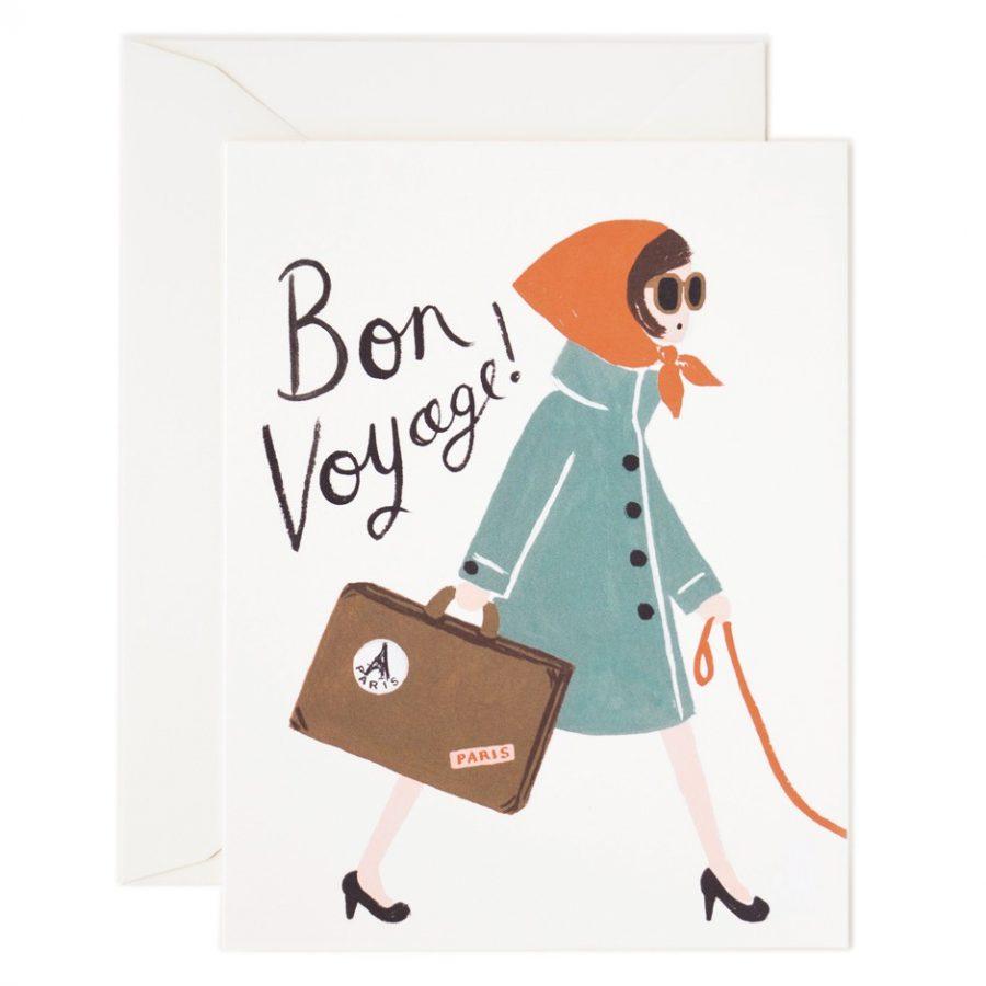 Rifle Paper Co Resedagbok 'Bon Voyage'