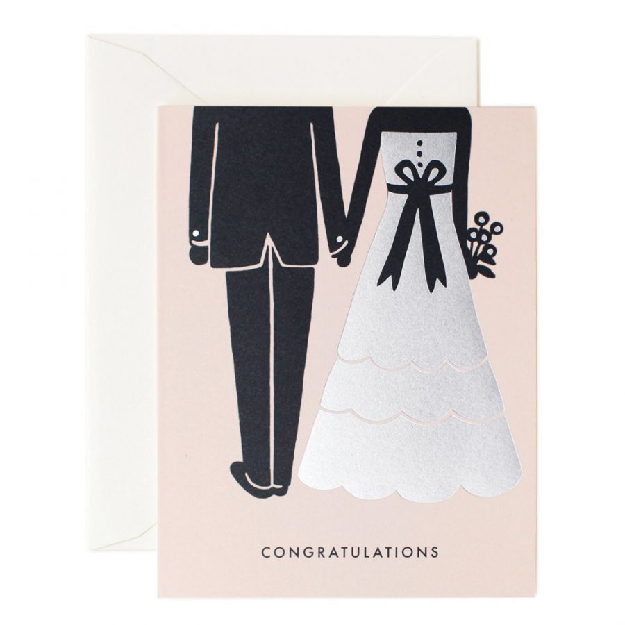 Rifle Paper Co Kort Bröllopspar