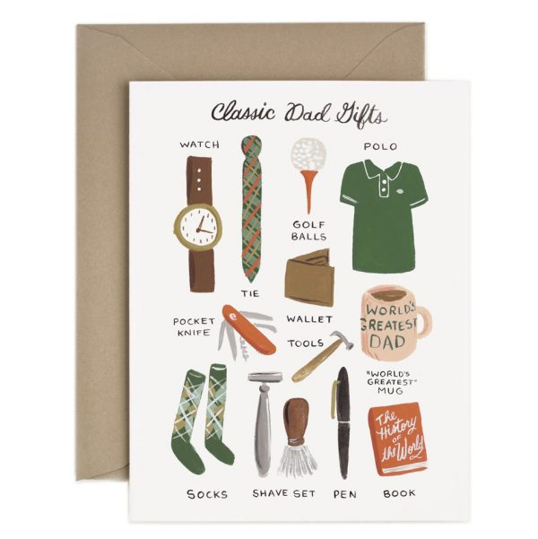 Rifle Paper Co Farsdagskort Classic Dad Gifts