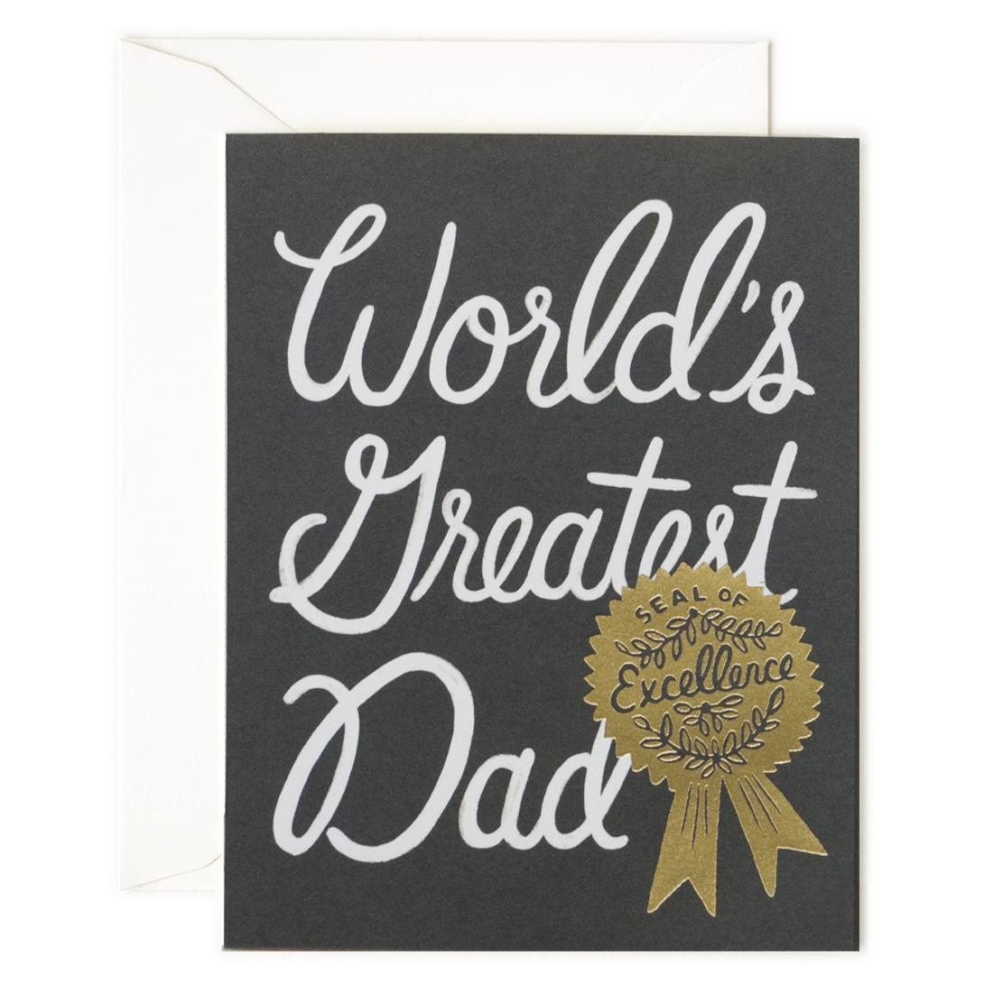 Rifle Paper Co Farsdagskort World´s Greatest Dad