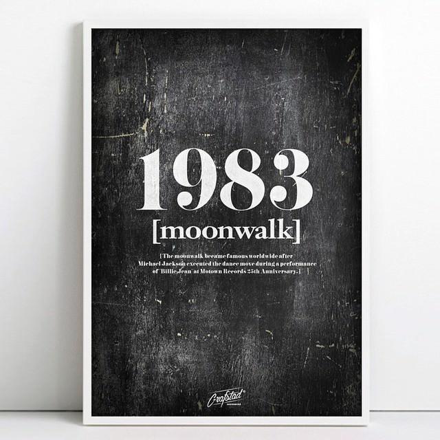 Grafstad Designbyrå Poster Moonwalk