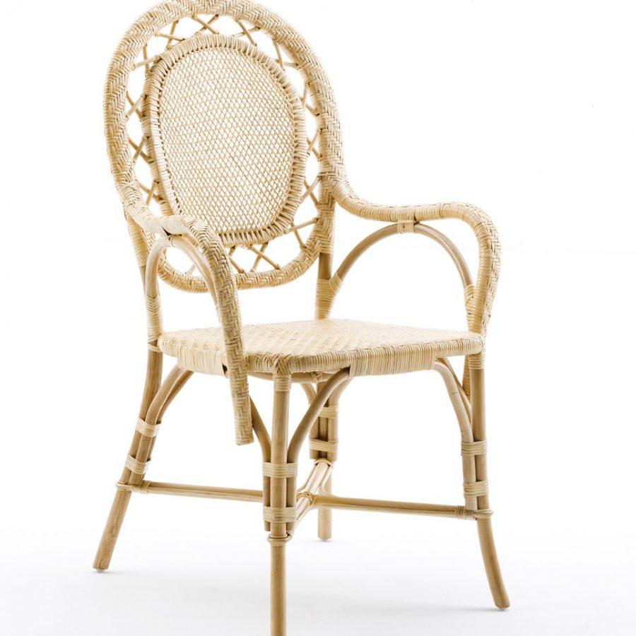 SIKA Design rattan chair Romantica Natural