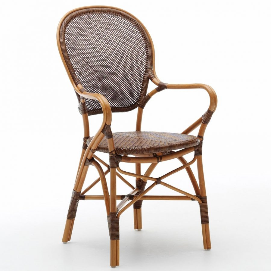 SIKA Design rottingstol Rossini brun