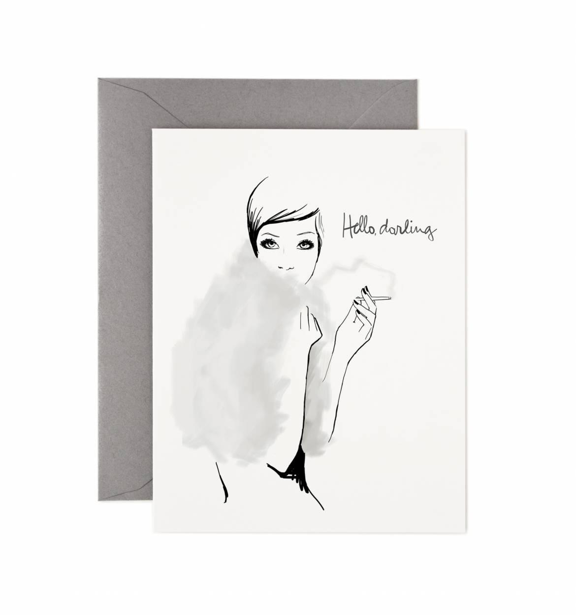 Garance Doré kort Hello Darling