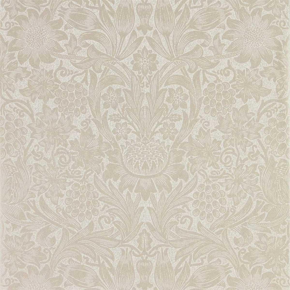 Morris & Co Tapet Pure Sunflower Pearl / Ivory