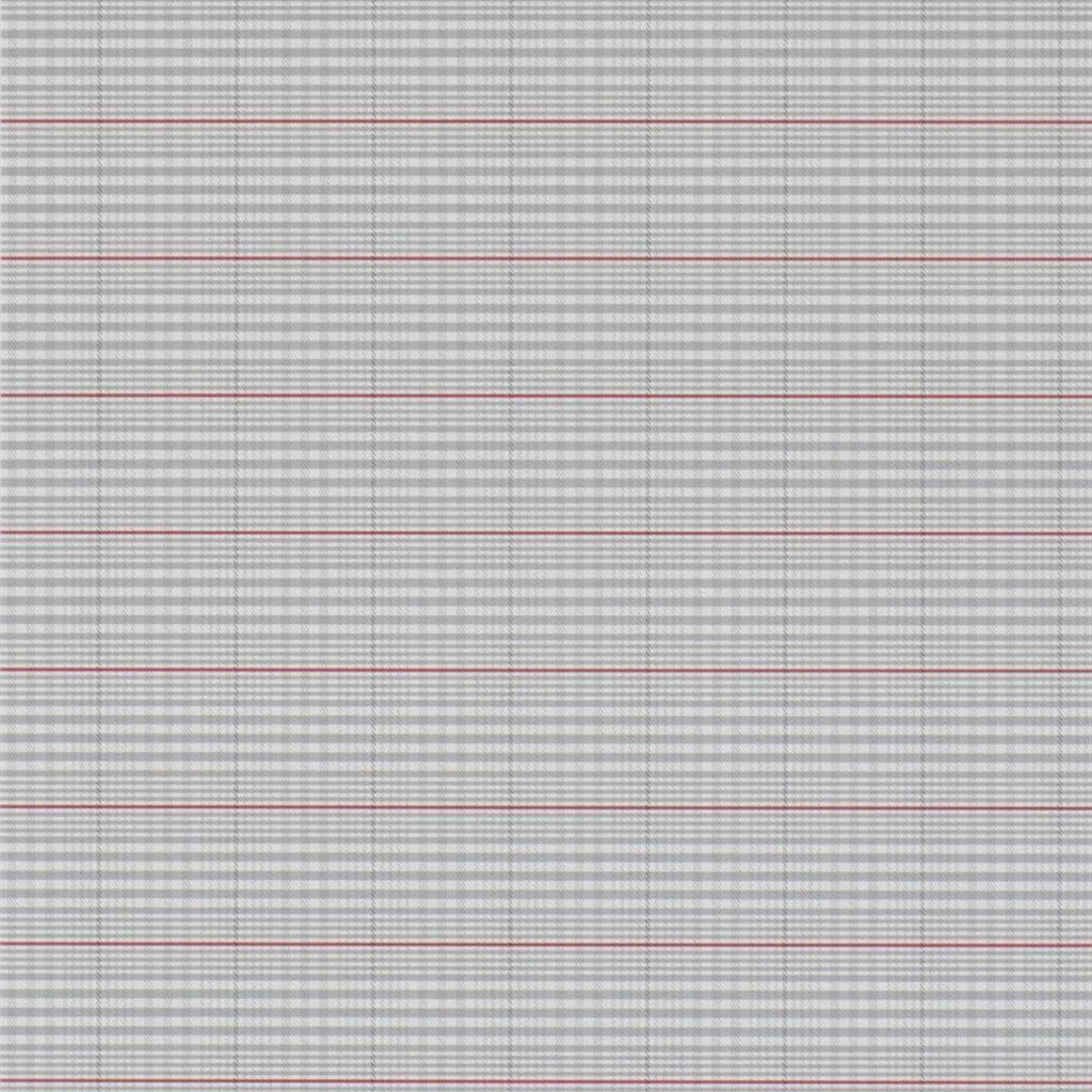 Ralph Lauren Tapet Barrington Plaid Grey / Red