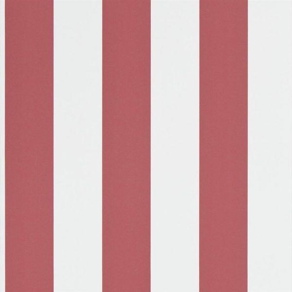 Ralph Lauren Tapet Spalding Stripe Red White