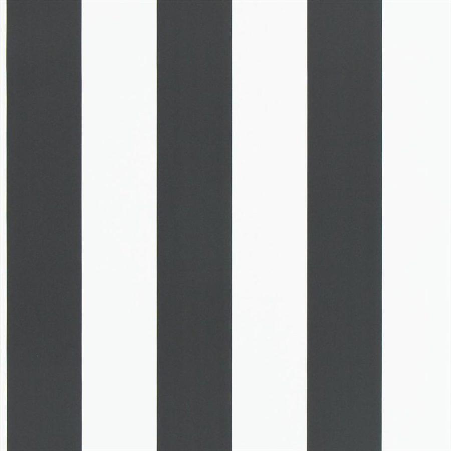 Ralph Lauren Tapet Spalding Stripe Black White