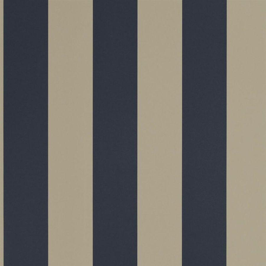 Ralph Lauren Tapet Spalding Stripe Navy Sand
