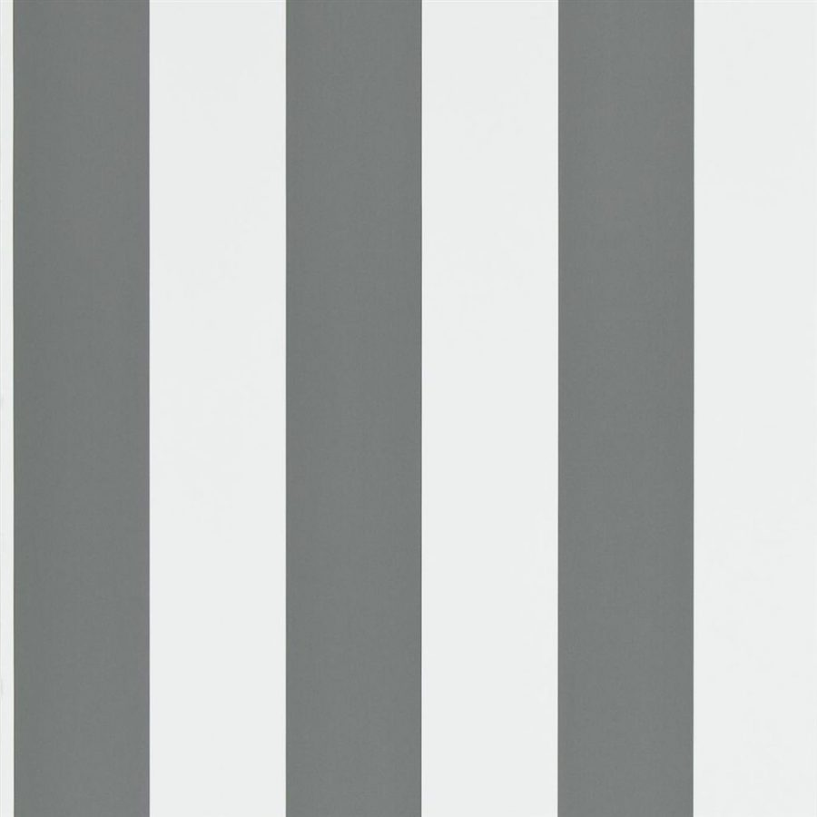Ralph Lauren Tapet Spalding Stripe Grey White