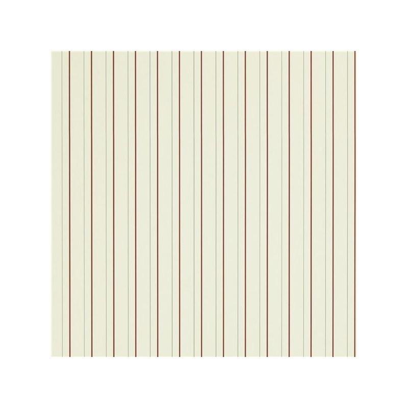Ralph Lauren Tapet Denton Stripe Cream red
