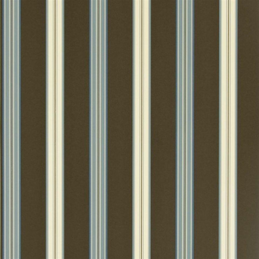 Ralph Lauren Tapet Dunston Stripe Cerulean