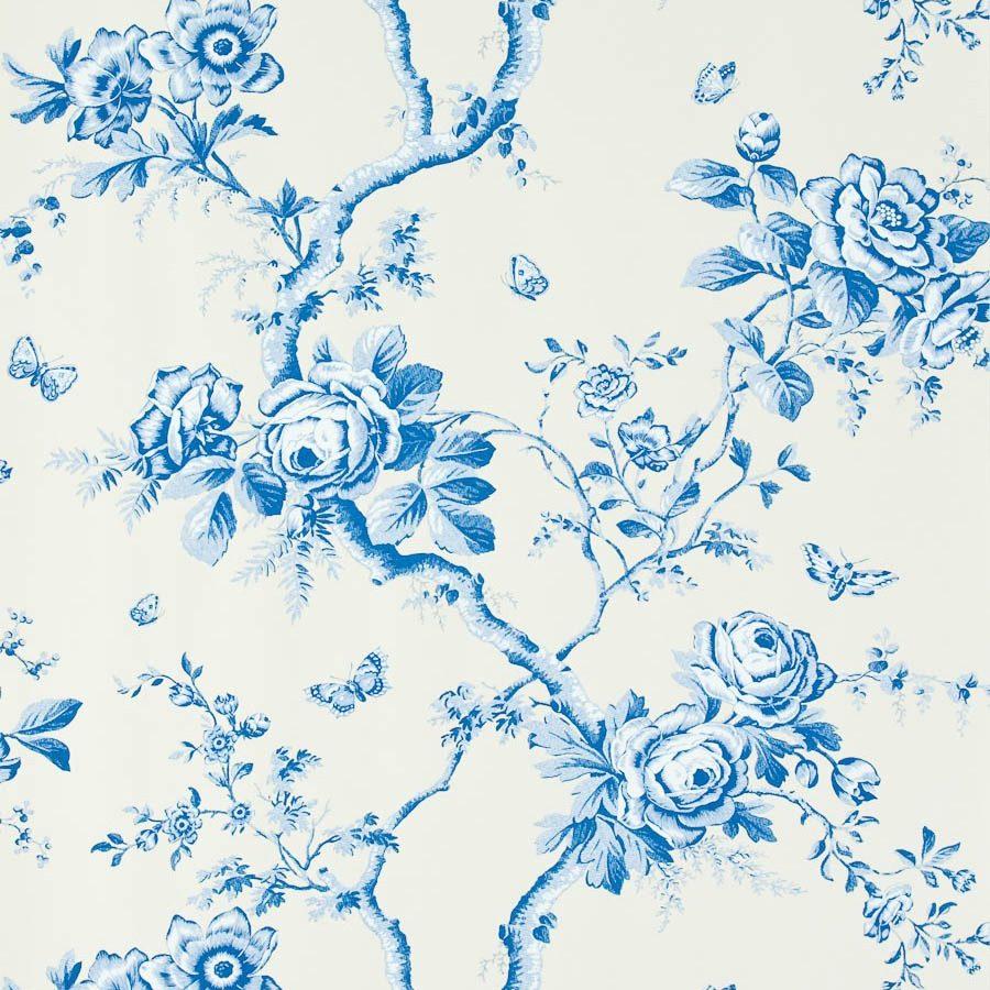 Ralph Lauren Tapet Ashfield Floral Delft