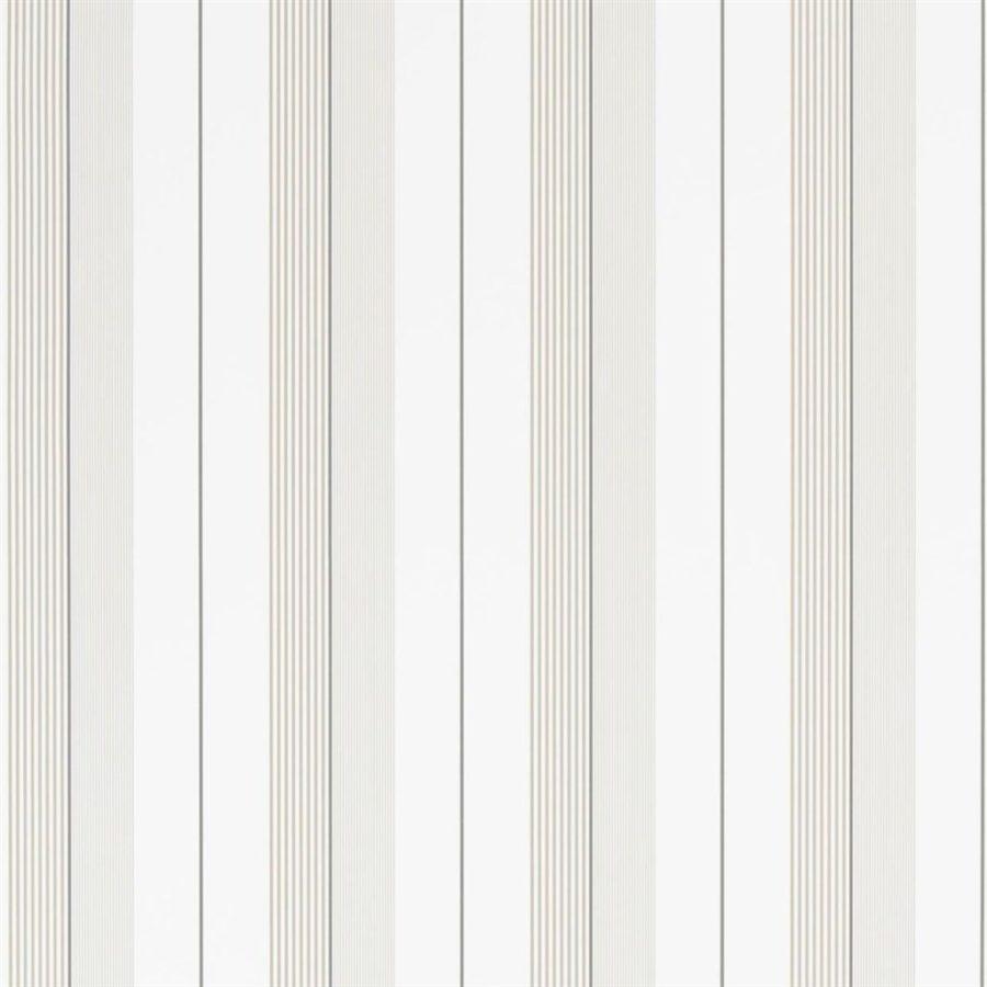Ralph Lauren Tapet Aiden Stripe Natural White
