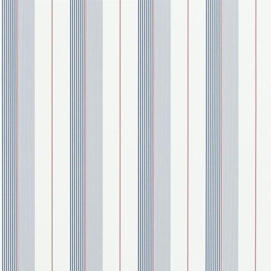 Ralph Lauren Tapet Aiden Stripe Navy Red White