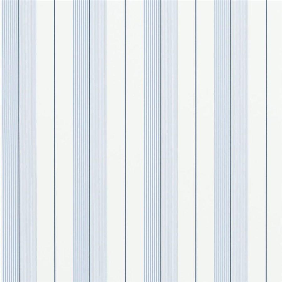 Ralph Lauren Tapet Aiden Stripe Blue Navy