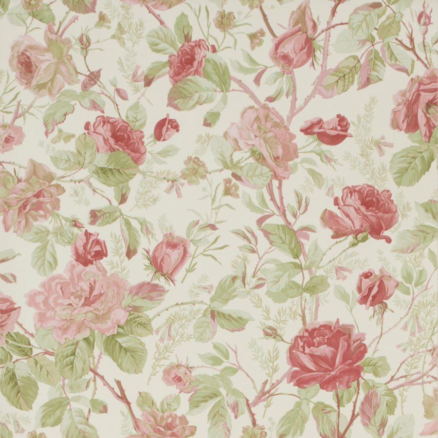 Ralph Lauren Tapet Marston Gate Floral Cameo Pink