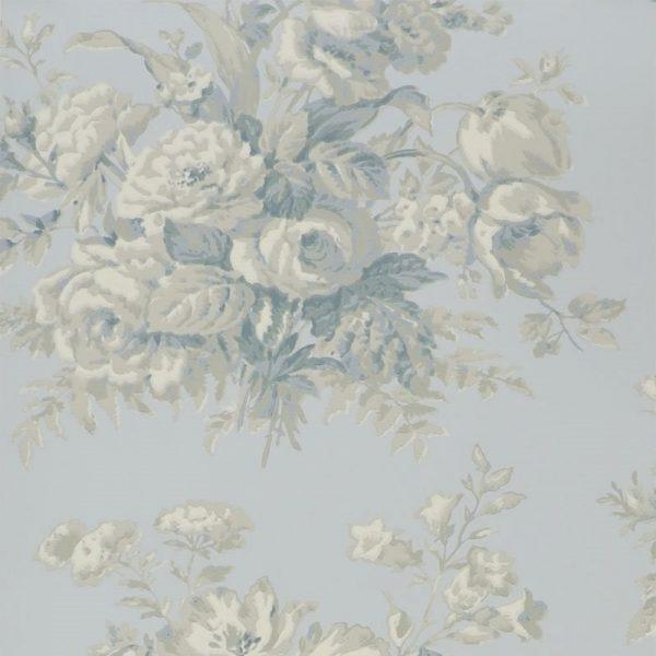 Ralph Lauren Tapet Francoise Bouquet Bluestone
