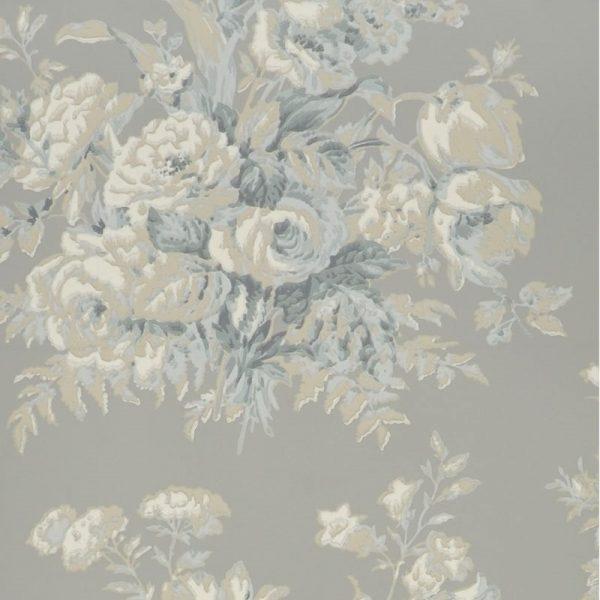 Ralph Lauren Tapet Francoise Bouquet Slate
