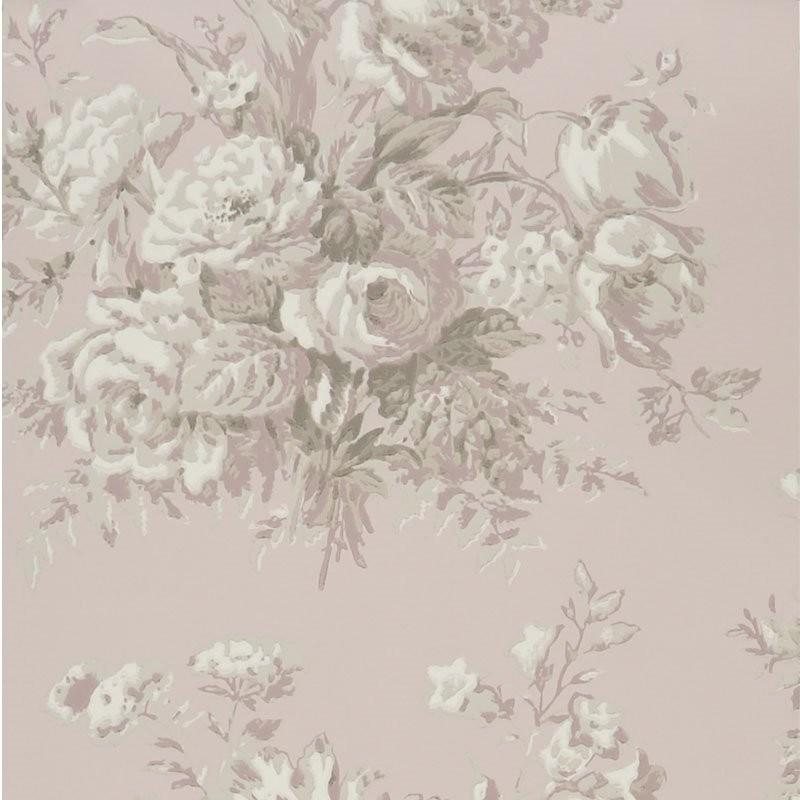 Ralph Lauren Tapet Francoise Bouquet Mauveine