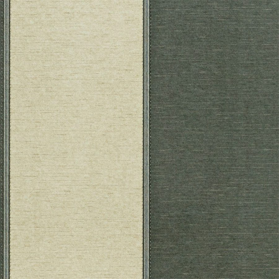 Sanderson Tapet Braided Stripe Ebony / Pewter