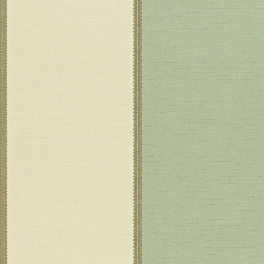 Sanderson Tapet Braided Stripe Wedgwood / Cream