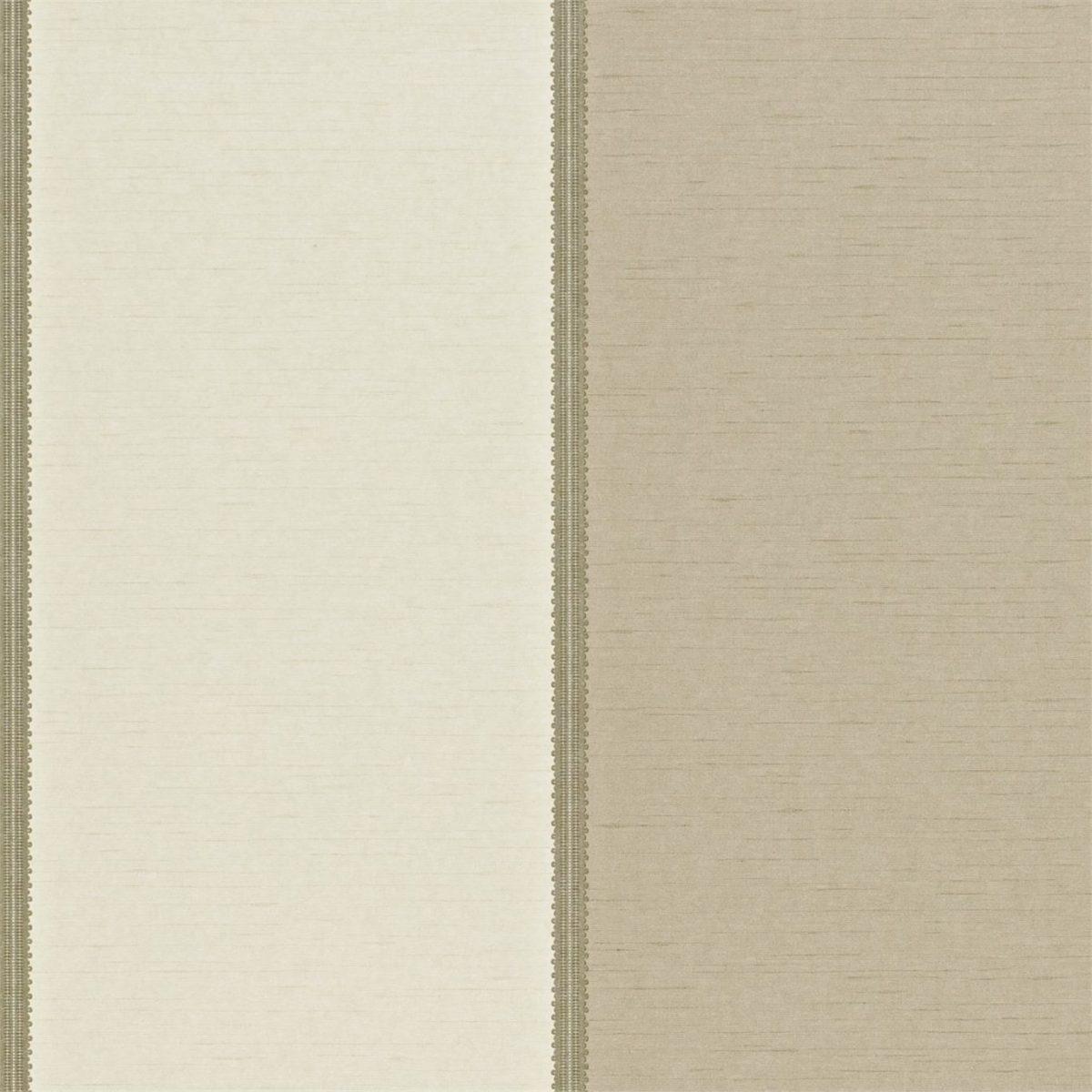 Sanderson Tapet Braided Stripe Ivory / Linen