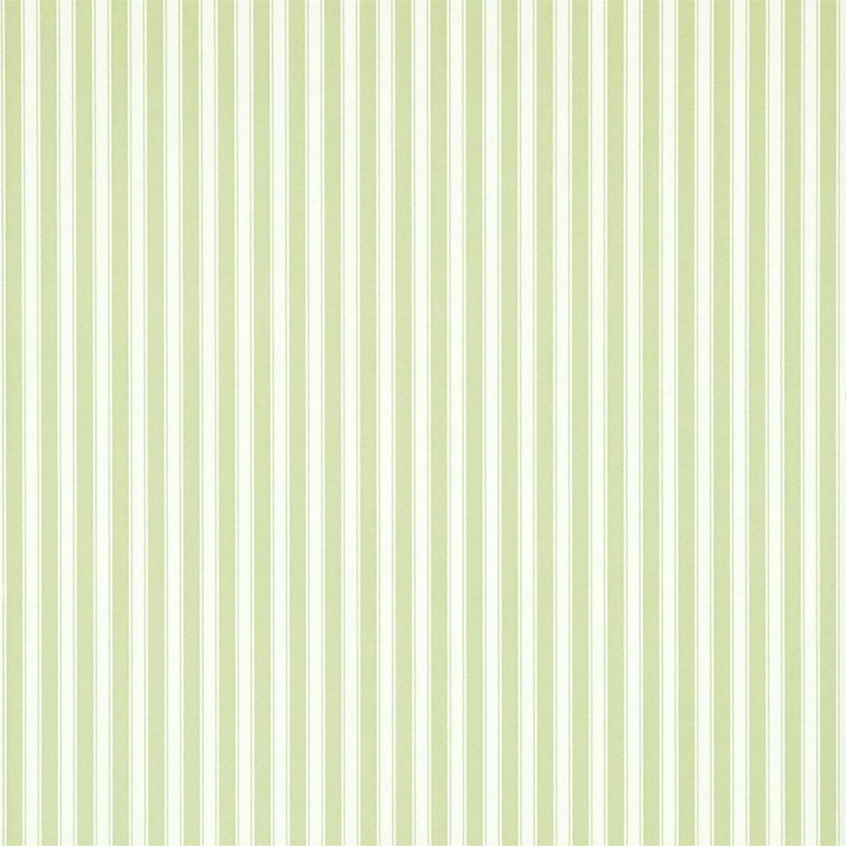 Sanderson Tapet New Tiger Stripe Leaf Green