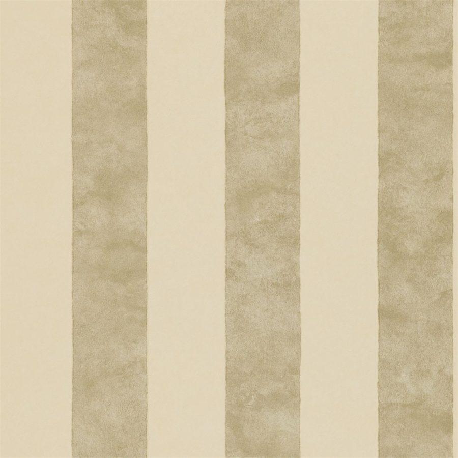 Sanderson Tapet Parchment Stripe Neutral Silver
