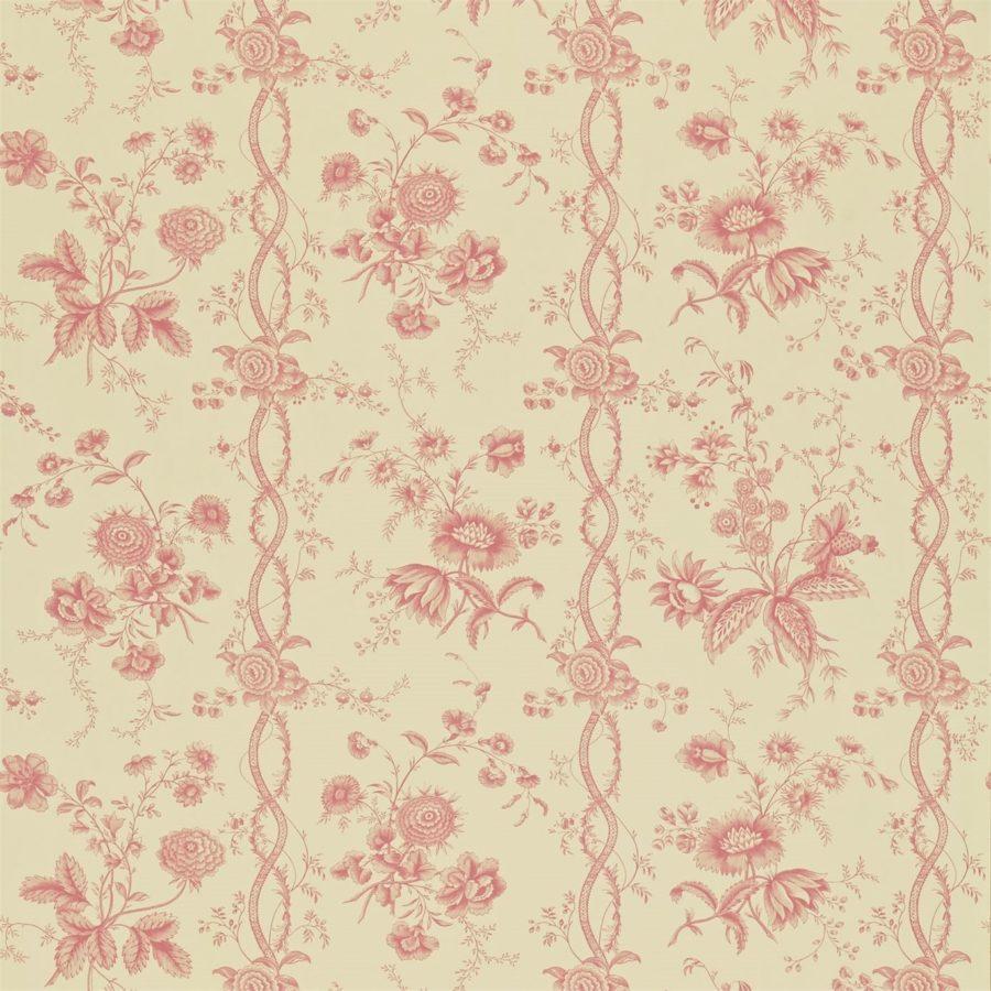 Sanderson Toilé wallpaper Floral Stripe