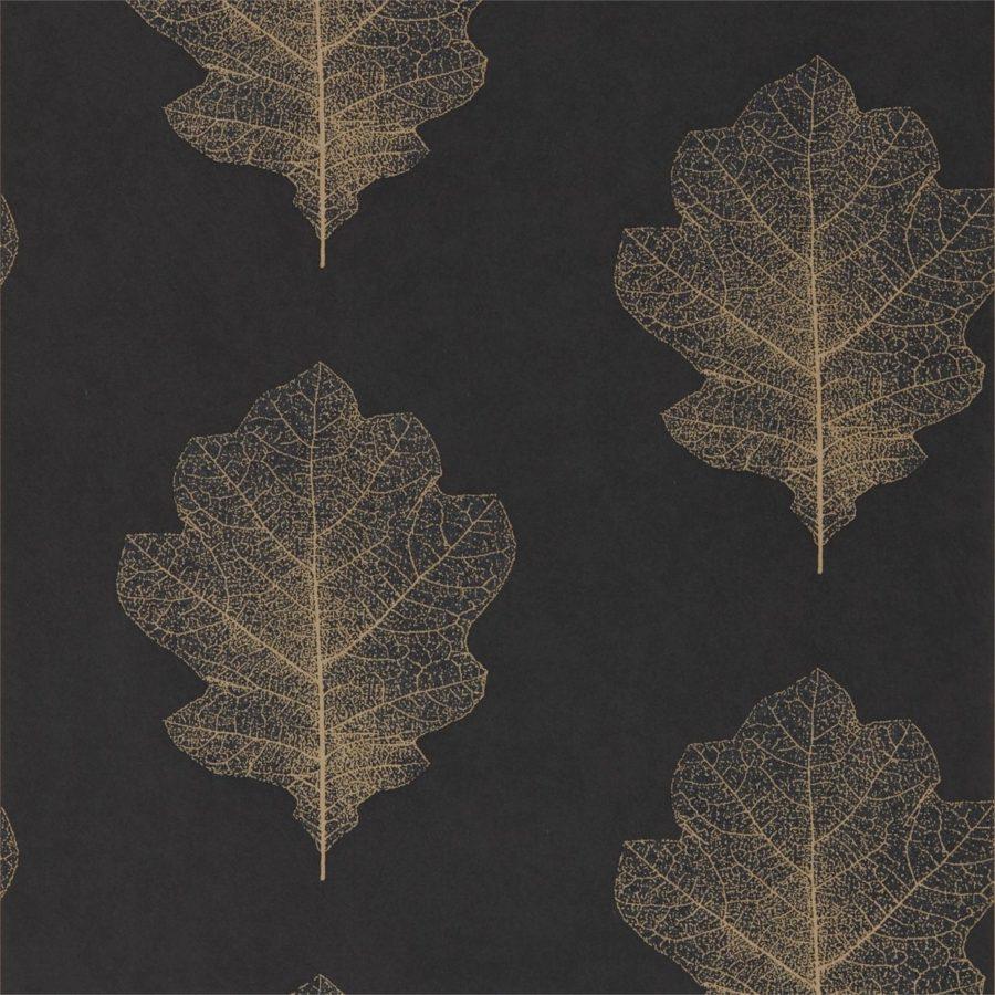 Sanderson Tapet Oak Filigree Charcoal