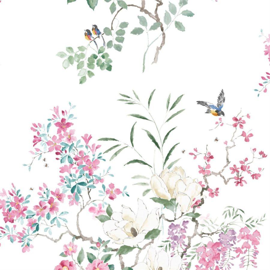 Sanderson Tapet Magnolia Blossom A