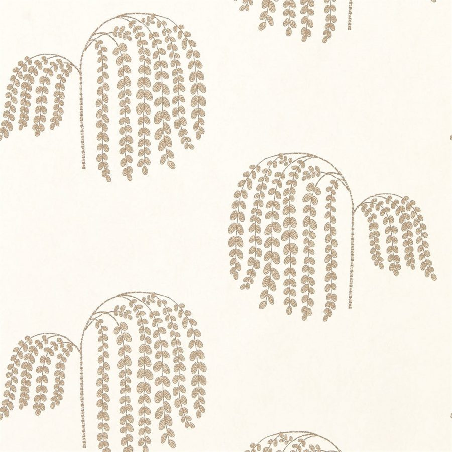Sanderson Tapeter Bay Willow Ivory Gold
