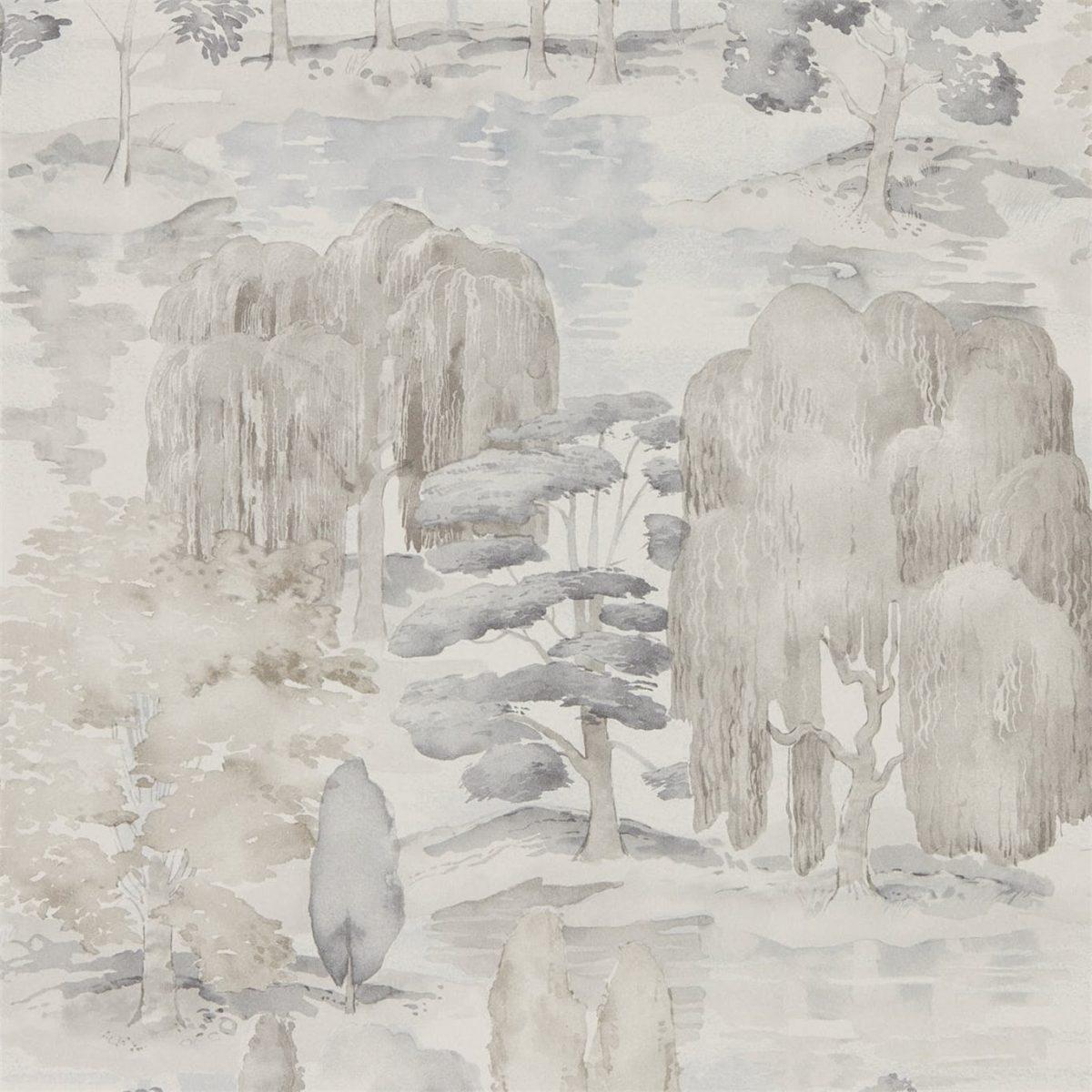 Sanderson Tapet Waterperry Gilve Linen