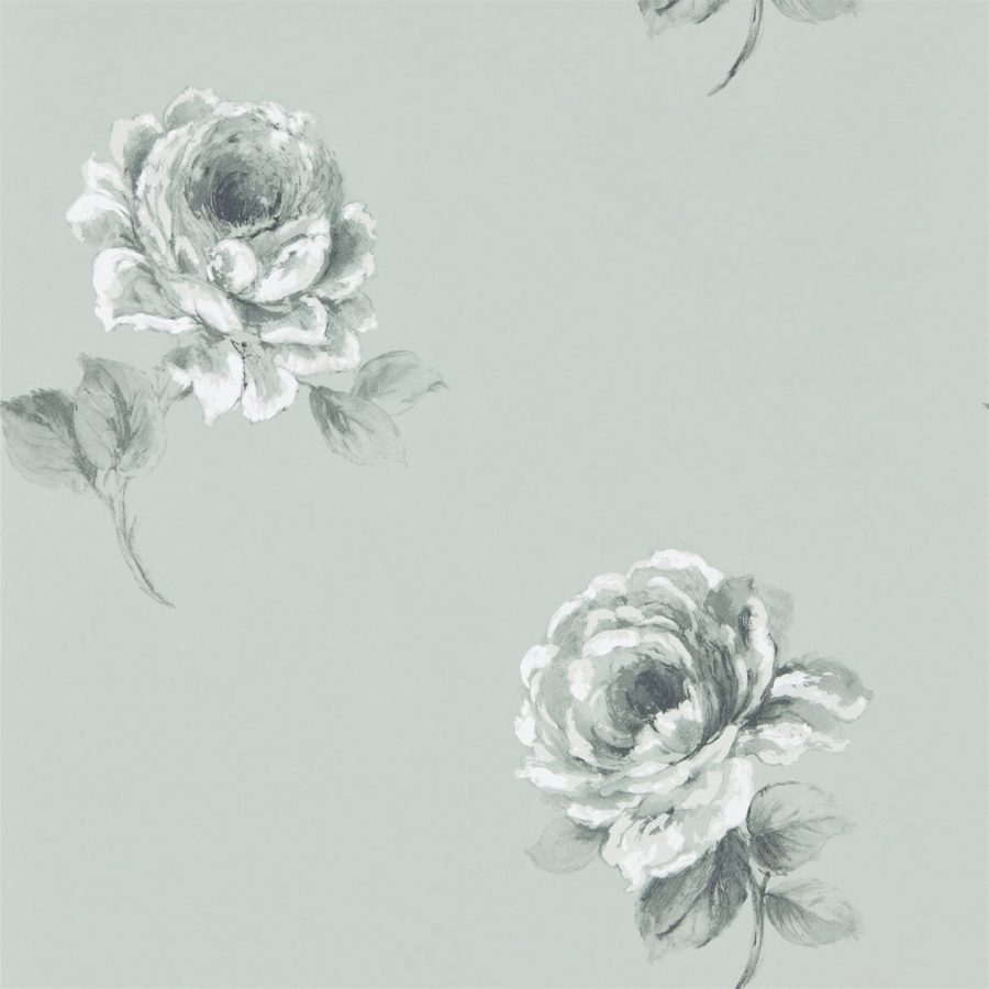 Sanderson Tapet Rosa Mint