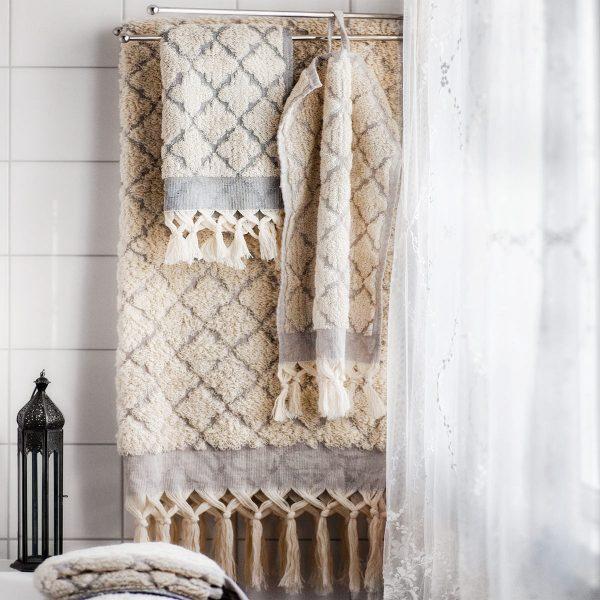 Craft Collective badlakan fringe tile