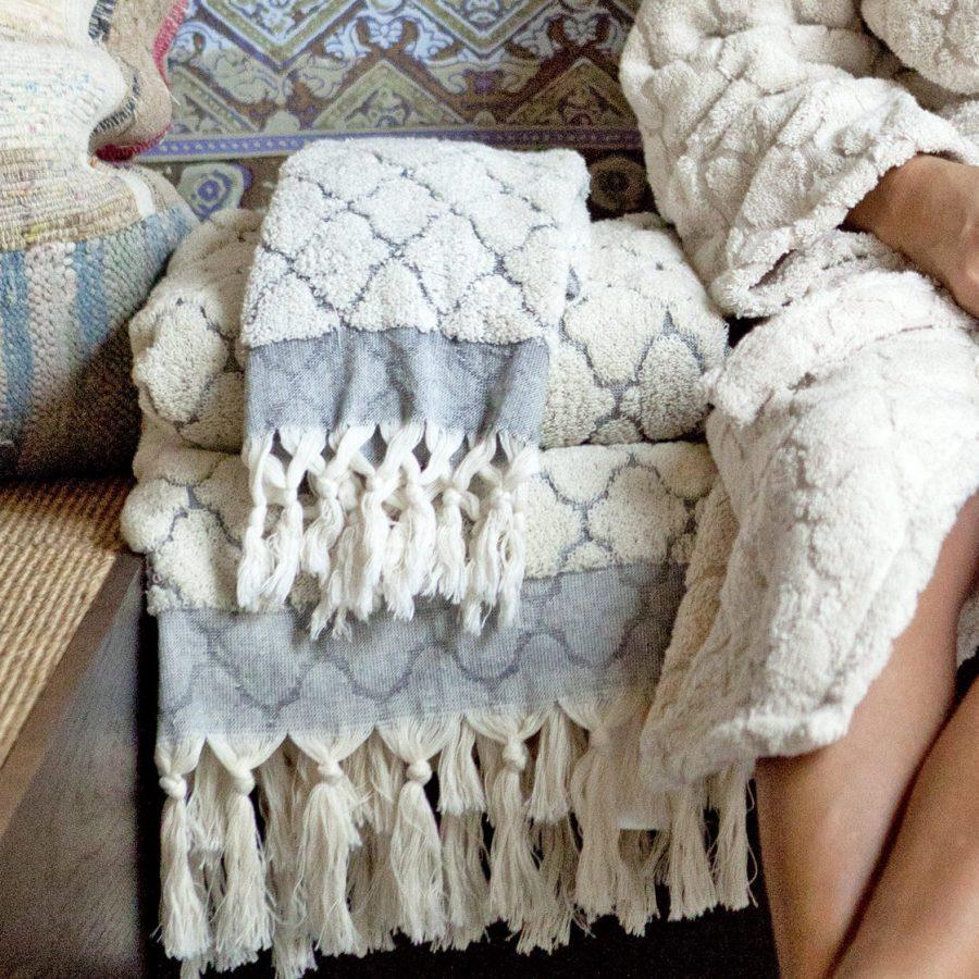 Craft Collective handduk Fringe tile