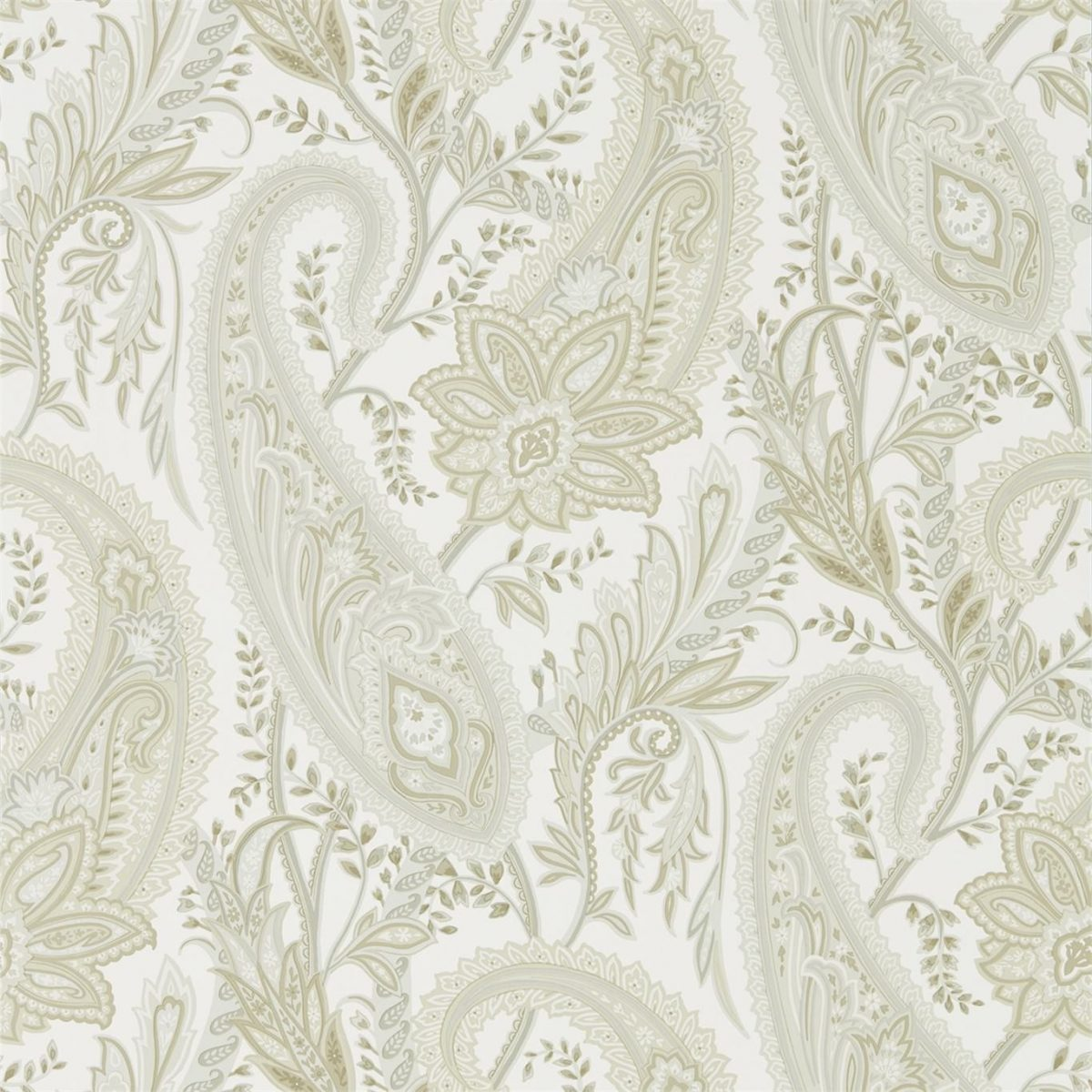 Sanderson Tapet Cashmere Paisley Mineral / Taupe